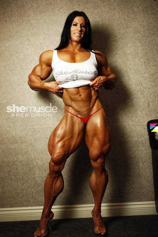 Muscular Woman Porn 23