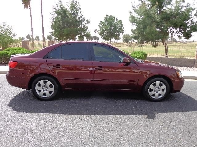 2008 hyundai sonata gls standard equipment