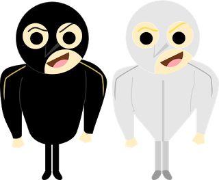 Gru y Dru de Mi Villano Favorito 3 con sus trajes de villanos. gru-dru-despicable-me-3-mi-villano-favorito-3