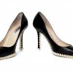 Tooth-soled stilettos by Fantich and Young