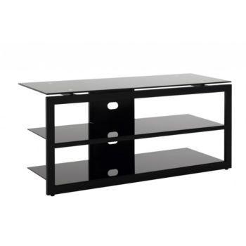 1000 id es sur le th me meuble tv hifi sur pinterest for Meuble hifi noir
