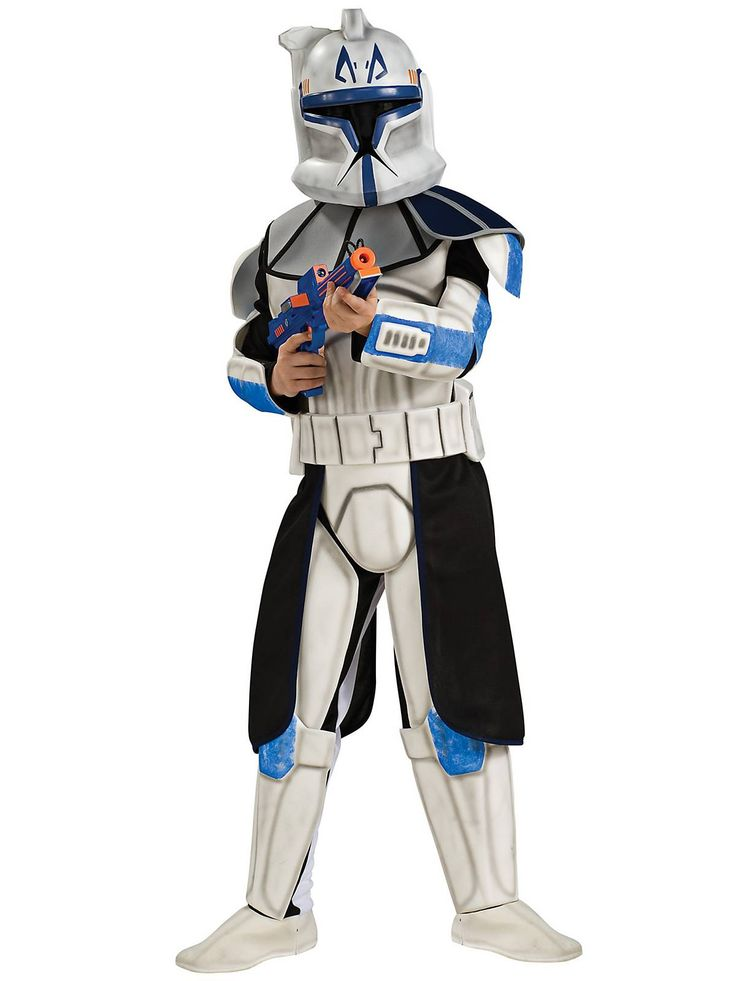 Deluxe Clone Trooper Leader Rex Child Costume | Cheap Star Wars Costumes for Boys