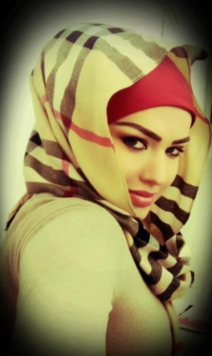 Hijab and beauty.