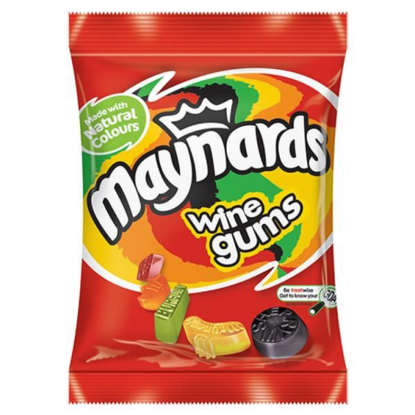 Maynards wine gums. The best fruity candy, better than gummies you get here in the US.