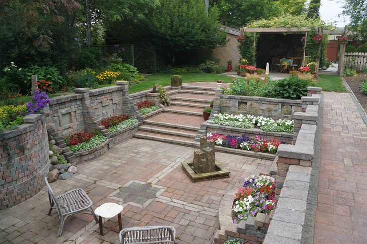 Paul V. of Creemore, ON. sent us this wonderful photo of his sunken garden. See more on Garden Making.