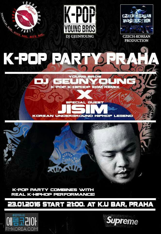 K-Pop Party in Praha with Korean rapper as guest !!!