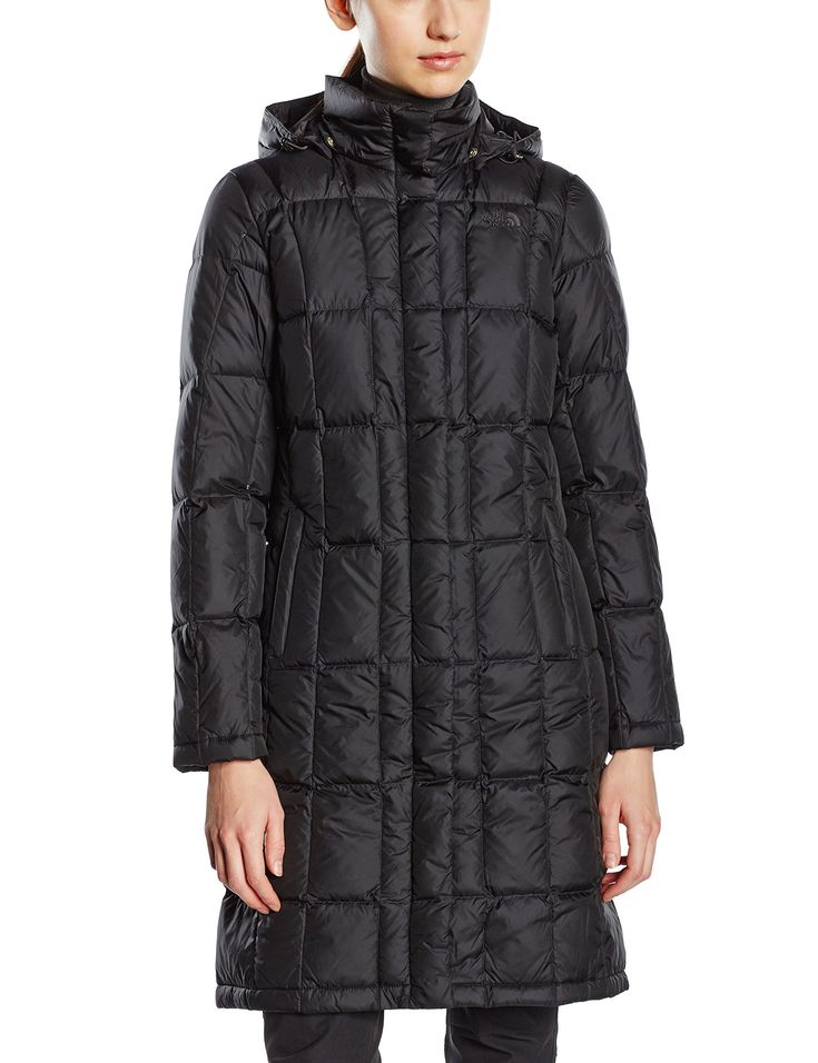 The North Face Women's Metropolis Parka Jacket TNF Black Size Large