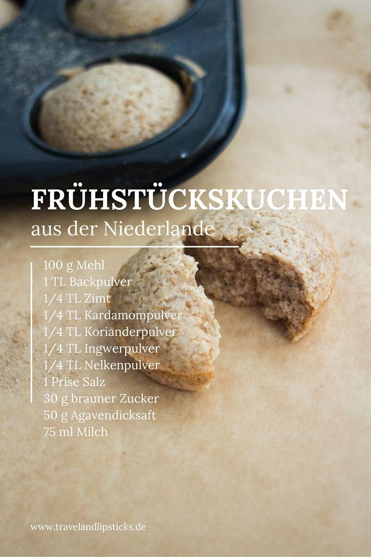 Die kulinarische Weltreise führt uns heute in die Niederlande. Essen aus Holland? Das ist doch typischerweise Pommes, Matjes und lecker Gewürztes - wie Frühstückskuchen #rezept