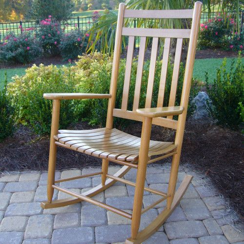 Dixie Seating Adult Indoor/Outdoor Rocking Chair (RTA) & Reviews | Wayfair