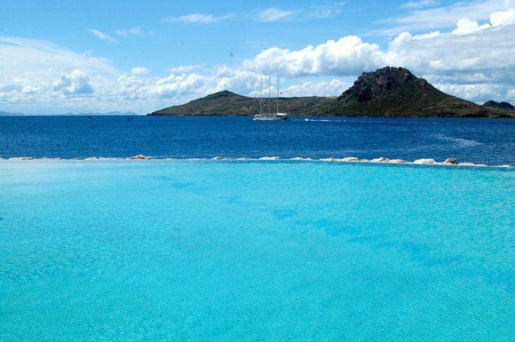 Infinity pool at Loft Beach Bar, Palmarina, Yalikavak, Turkey.  Amazing!