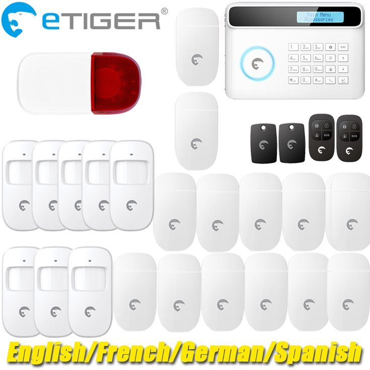 460.00$  Know more  - Best Made-in-China home security alarm system gsm sms eTiger alarm S4