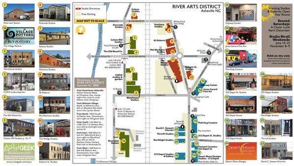 Asheville - River Arts District