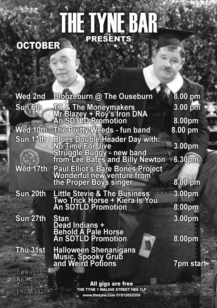 The-Tyne-Bar-Gigs-October-2013