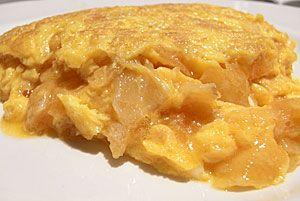 Тортилья картофельная, Тортилья де пататас | Вкусные рецепты испанской кухни
