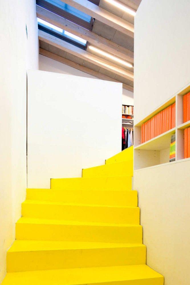 Foyer Art Vif Bienne : Architecture atelier projektil architekti office