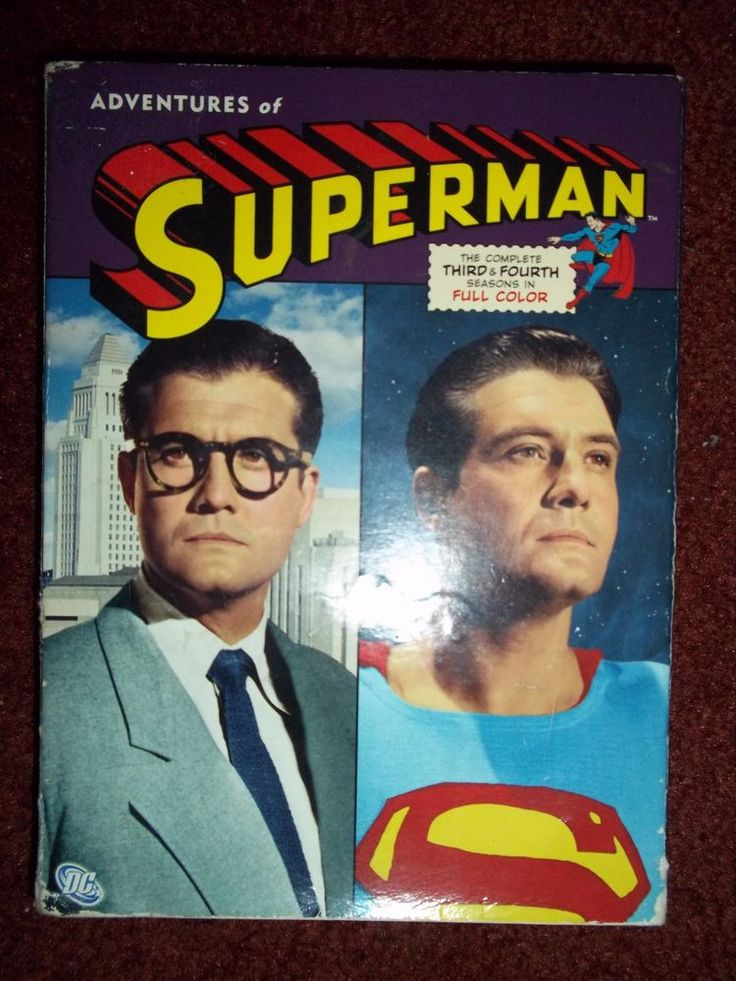 Adventures of Superman Complete 3rd and 4th Season George Reeves