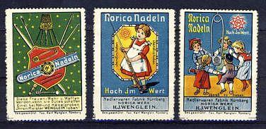 Reklamemarken und Vignetten / Cinderellas and Vintage Stamps:  http://sammler.com/bm/reklamemarken.htm