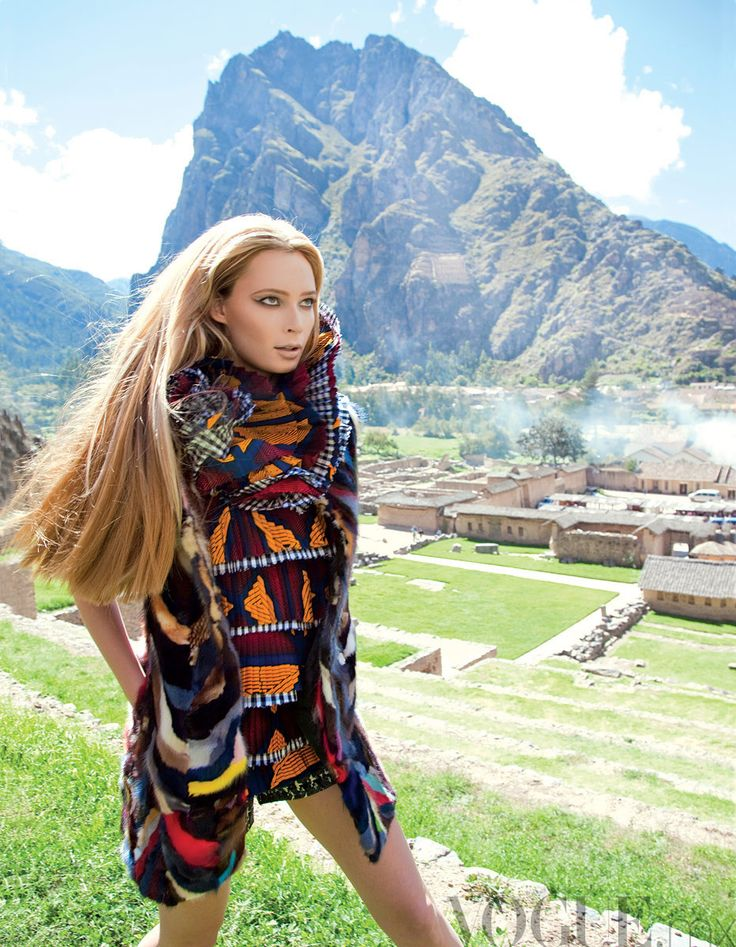 Incan Princess: Vogue travels to Peru #Fashion Inspiration - Latin America