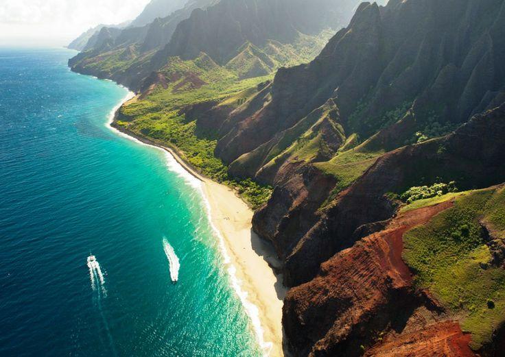 A Costa de Kauai no Hawaii | Lugares para visitar ...