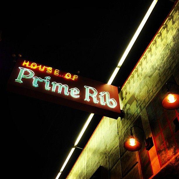House of Prime Rib in San Francisco, CA