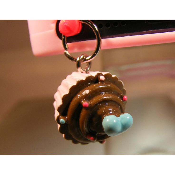 $5 Handmade Mobile Phone Danglers Cupcake by PrettyAwesomeDesigns on Handmade Australia