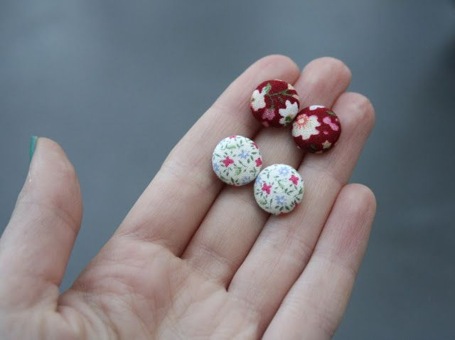 Homemade - from buttons to earrings