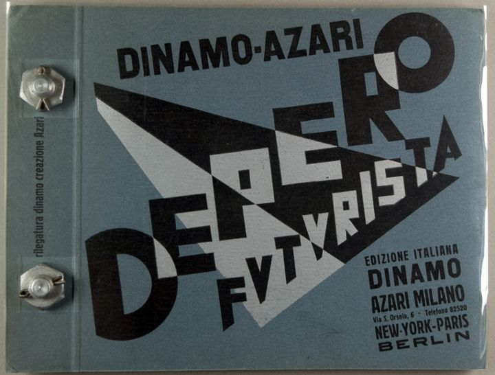 Depero Futurista | Cary Graphic Arts Collection