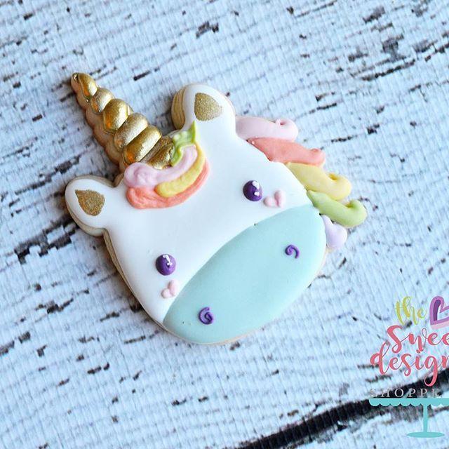 Unicorn face cutter. #unicornbirthday #thesweetdesignsshoppe #3dprinting #3dcookiecutters #unicorn #unicorncookiecutter #unicorncookiecutters