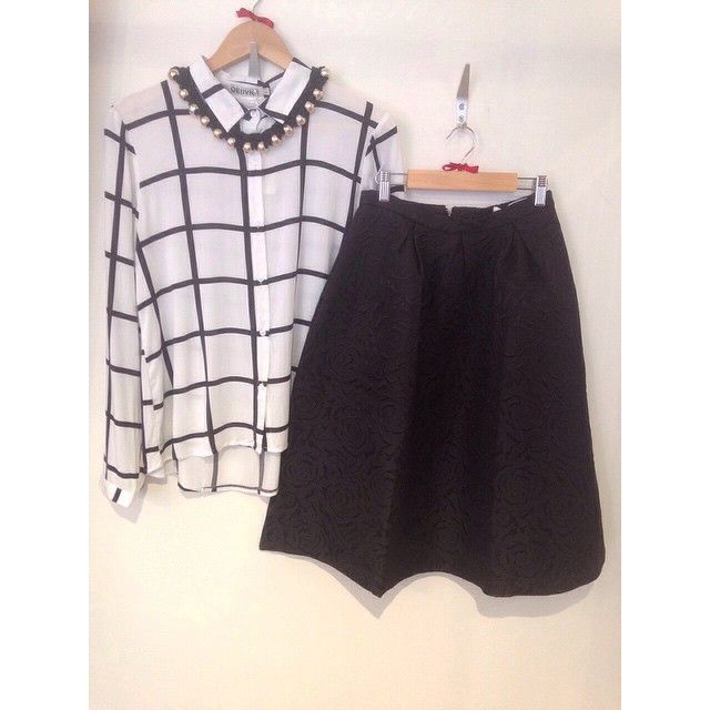 The perfect outfit for days like today!! Our gorgeous, brand new 50's style midi skirt teamed with our grid print shirt!! Get or regret at 21 Guildhall Street, Preston City Centre! Don't let the roadworks put you off!! Or shop the rest of the collection online at www.maryandmilly.co.uk with FREE UK shipping on offer! ❤️