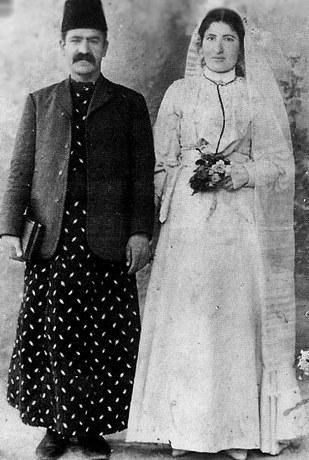 Antep_1908  Ermeni'lerin düğün resimleri.Hovhannes and Victoria Ainilian–Shnorhokians, Aintab.