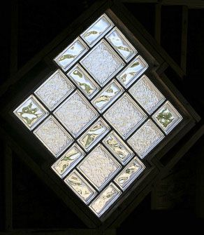 ZENTERIORS by Camian Larson - glass block window