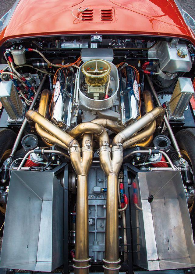 1966 ford gt mark ii engine viewjpg 640895 mechanics pinterest