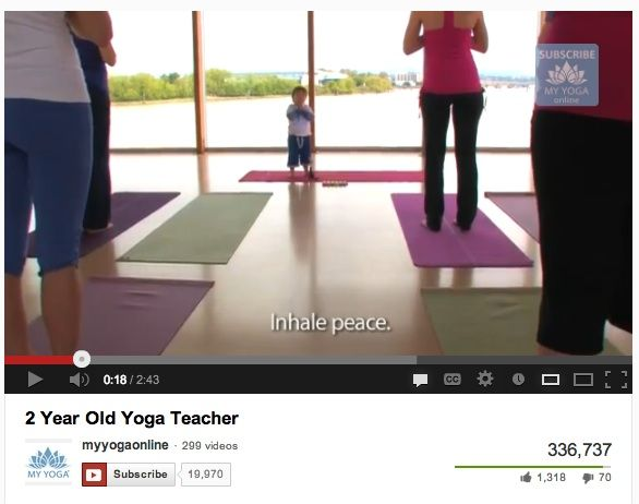 Toddler Yoga Videos! Scout loves doing yoga at school!