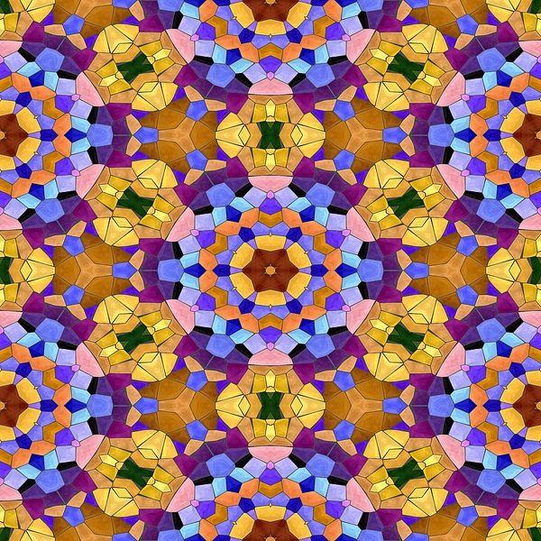 Orange purple radiant seamless kaleidoscopic mosaic pattern #textiledesign #textilepattern #ethnostyle #kaleidoscope #seamlesspattern #wallpaper #wallart #walldecor #gaudycolors #tapestryandtextileprint