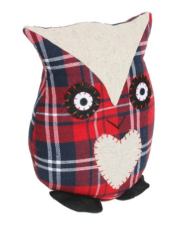 Tartan Owl Doorstop by Christmas Interiors & Gifts on #zulilyUK today!