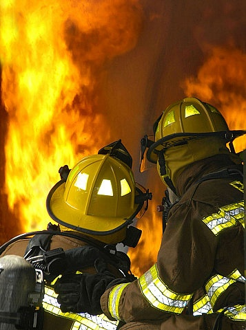 Indiana fire fighting training system