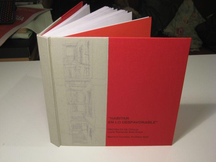 Libro de Memoria para título de Arquitecto