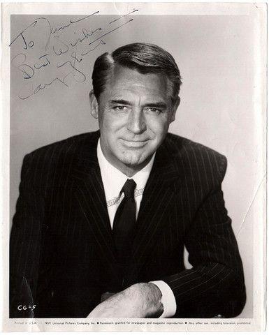 Grant, Cary - Signed Photo – Tamino Autographs