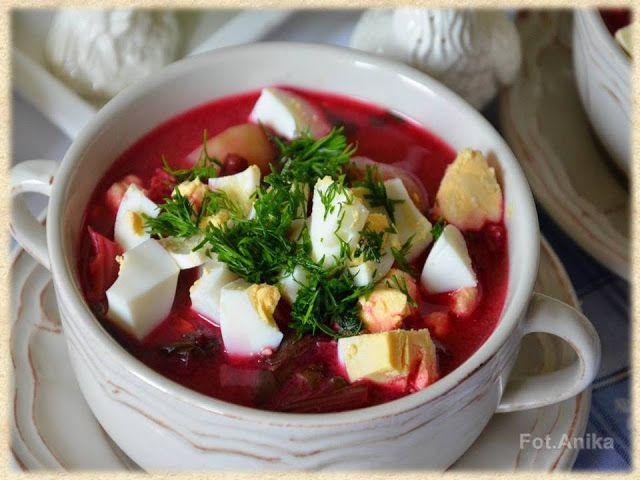 Domowa kuchnia Aniki: Zupy