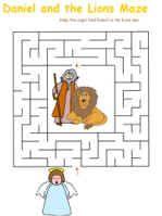 Daniel in Lion's Den Craft | DLTK's Bible Crafts for Kids