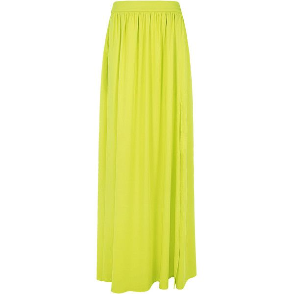 25 best ideas about yellow maxi skirts on pinterest bow