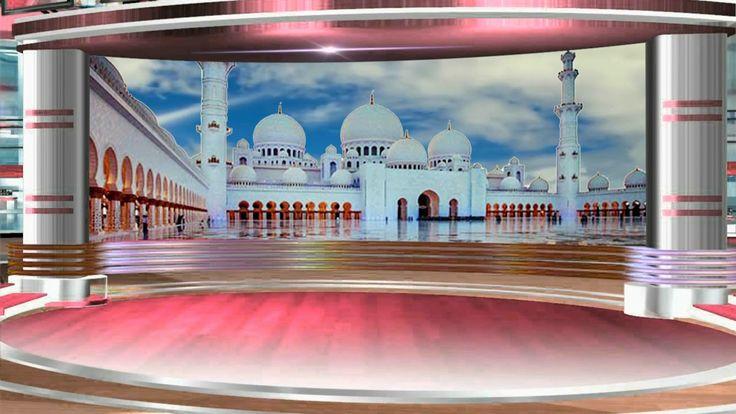 Islamic, Talk show, Virtual Studio, TV Studio, Background