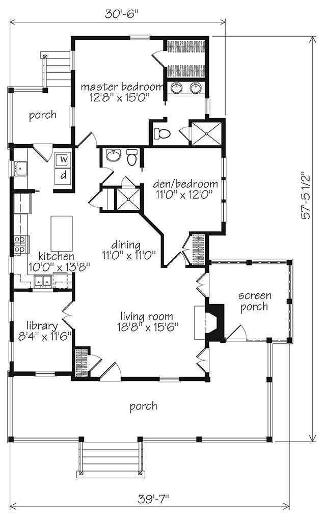 My Dream Home Here S What It Looks Like Southern Living House Plans Dream House Plans Cottage House Plans