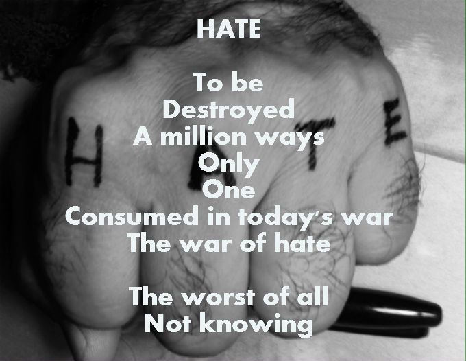HATE - Request feedback If you Dare