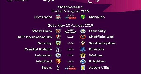 موعد مباريات ليفربول في الدوري الانجليزي القادم مباراة ليفربول القادمة Afc Bournemouth Watford Bournemouth