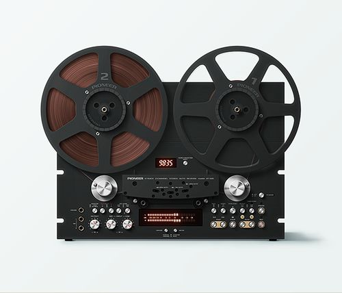 Pioneer | Vintage reel-to-reel tape recorder deck |