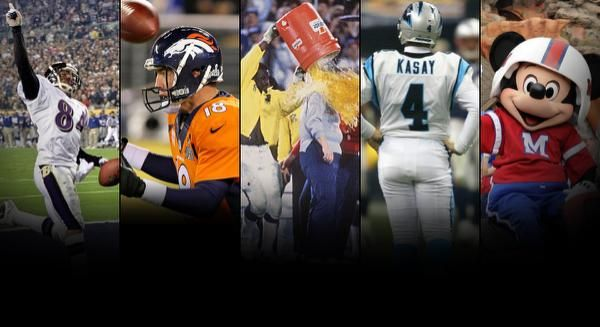Our next collection of moments take a look at a couple of traditions that started or picked up steam at Super Bowl XXI.