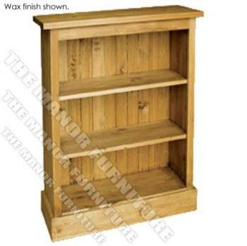 Unfinished Pine Boston 3ft 6in Bookcase