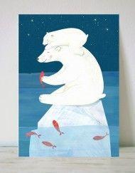 lamina infantil oso polar