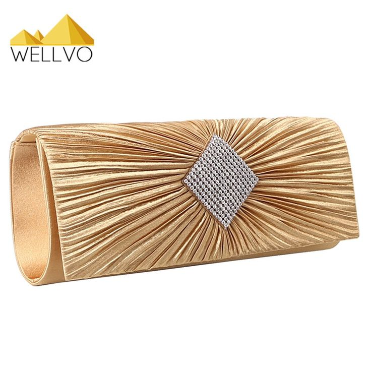 Ladies Luxury Special Evening Rhinestone Clutch Purse //Price: $16.95 & FREE Shipping //     #style